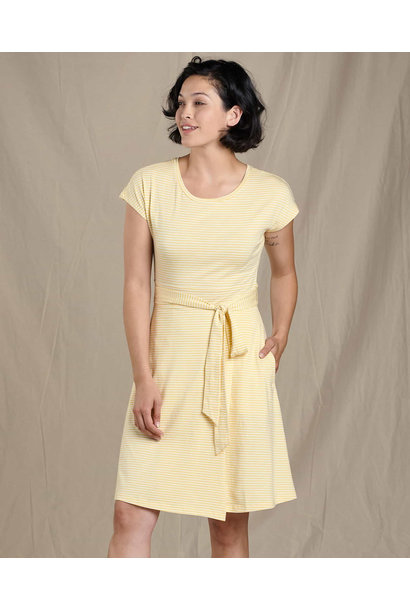 Toad & Co Cue Wrap SS Dress
