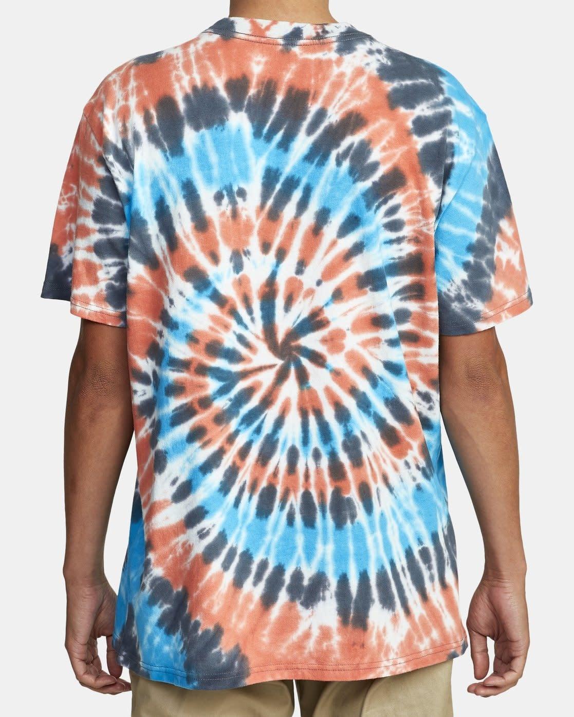RVCA Dayshift Tie Dye T-Shirt-1