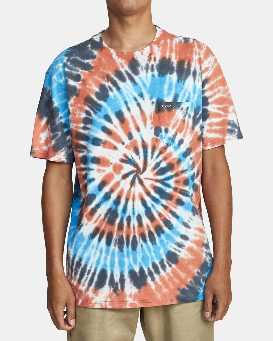 RVCA Dayshift Tie Dye T-Shirt-2