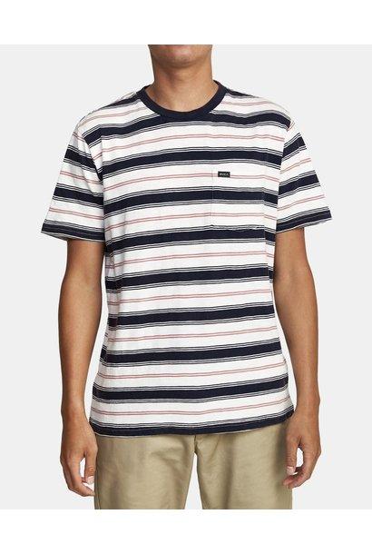 RVCA Davis Stripe T-shirt