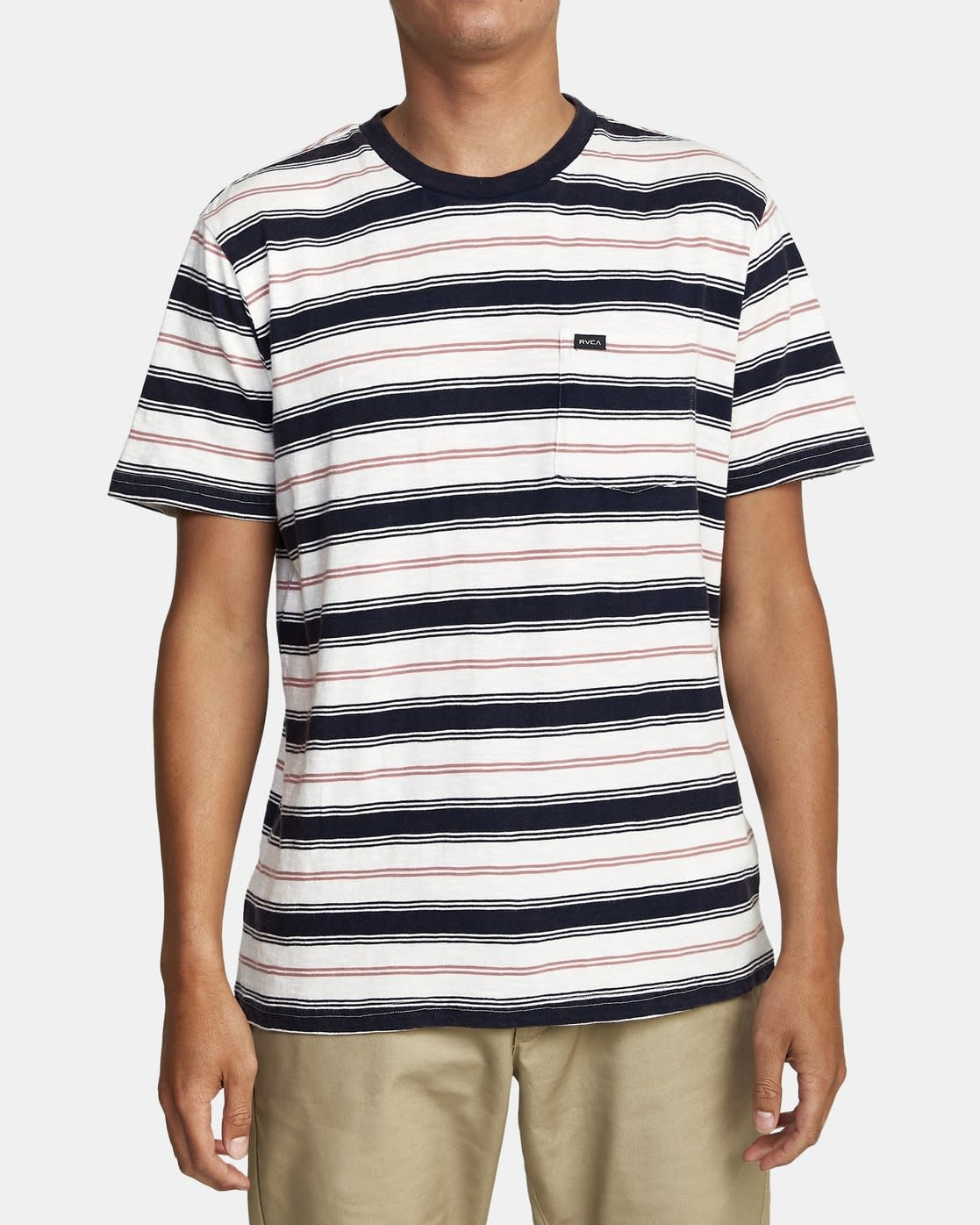 RVCA Davis Stripe T-shirt-1