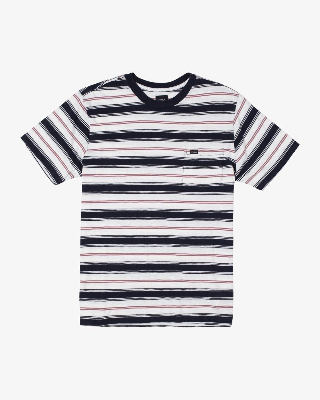 RVCA Davis Stripe T-shirt-2