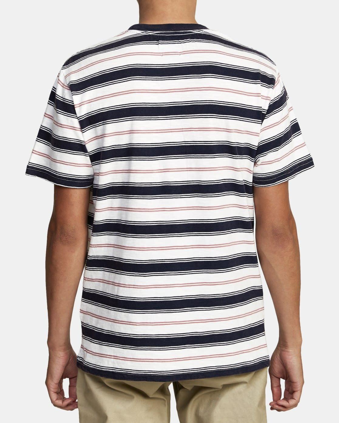 RVCA Davis Stripe T-shirt-3