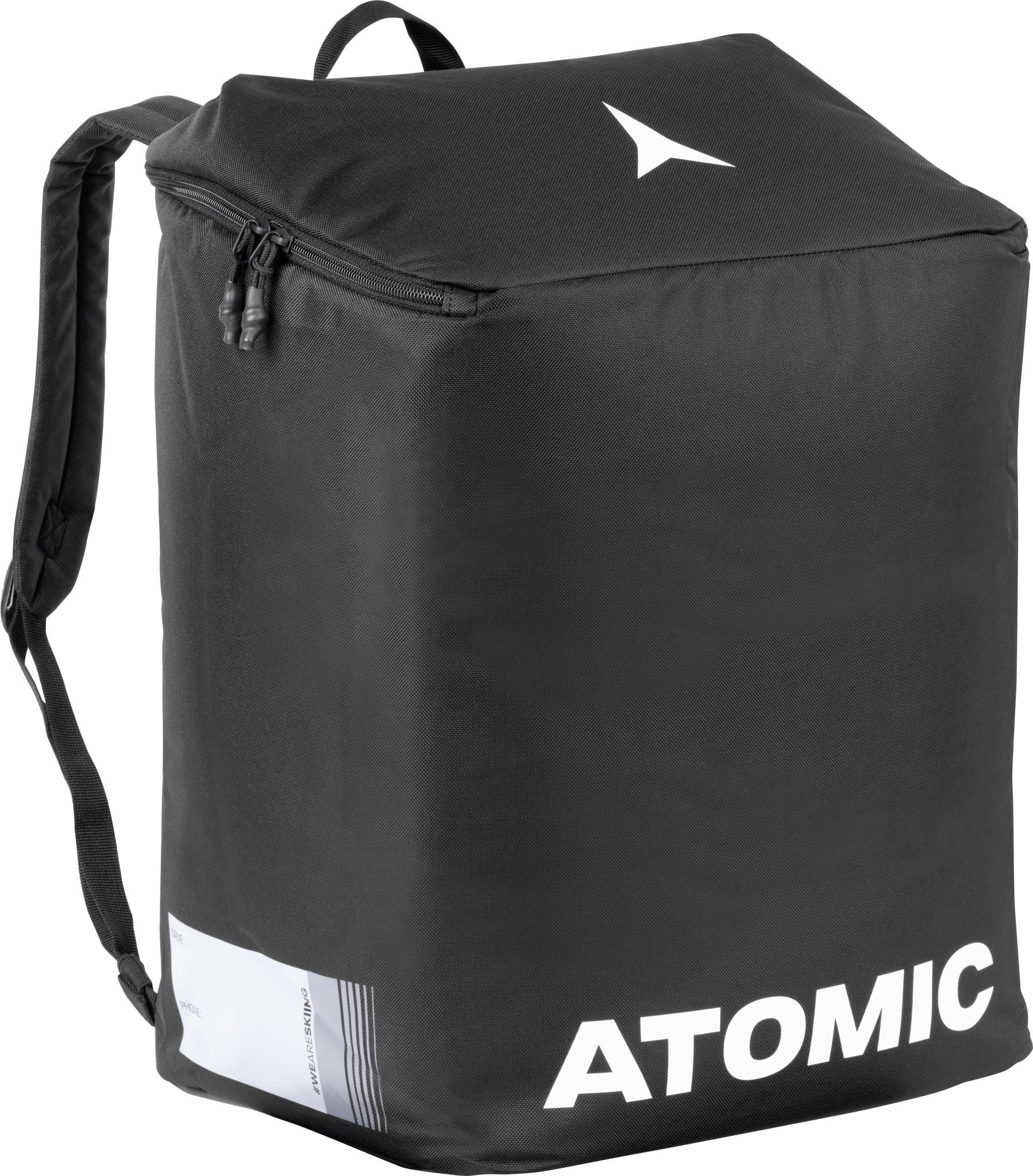 Atomic Boot & Helmet Pack Black/White-1
