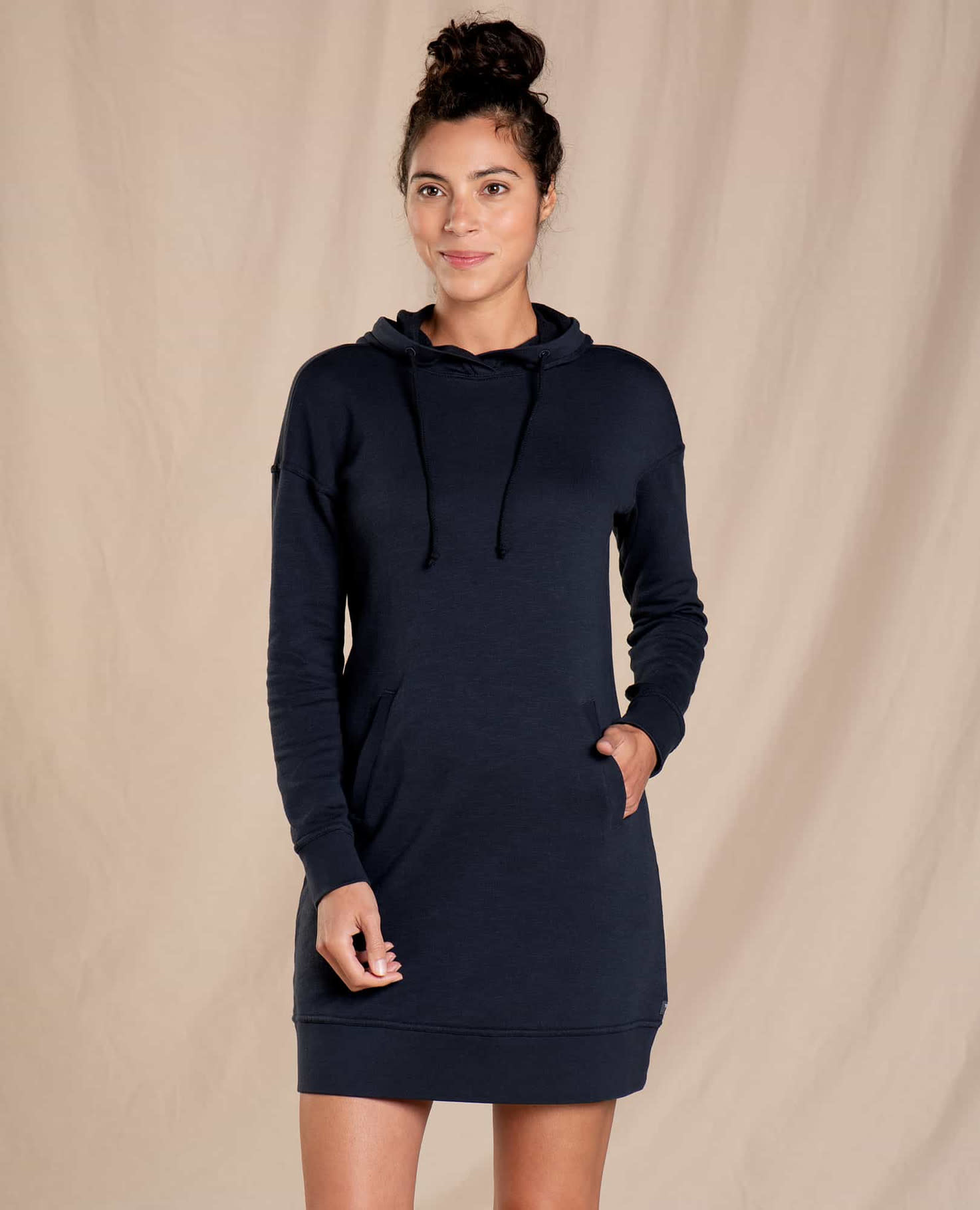 Toad & Co Follow Through Hooded Dress-1
