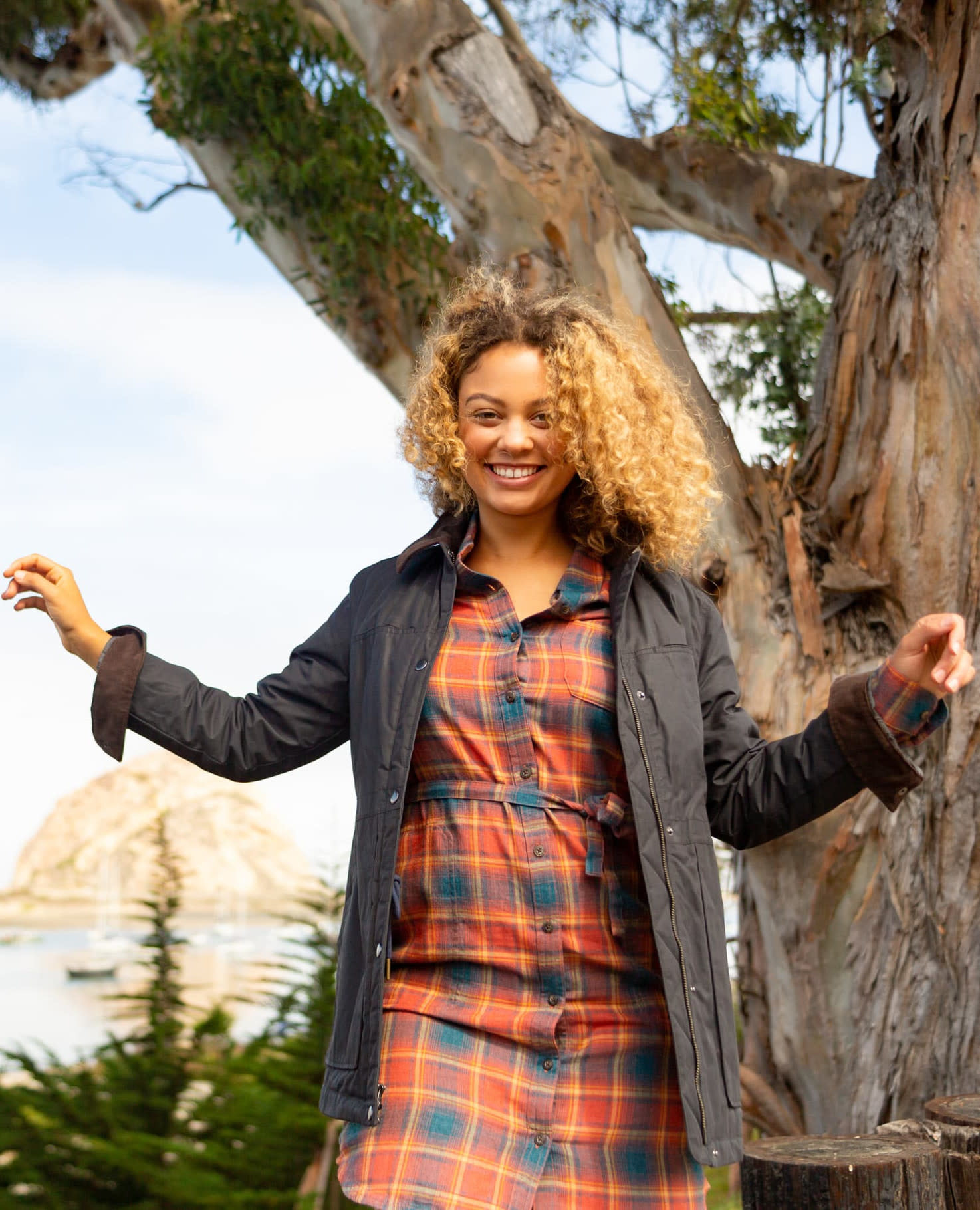 Toad & Co Re-Form Flannel Shirtdress-2