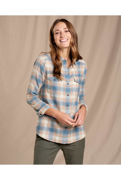 Toad & Co Re-Form Flannel Shirt