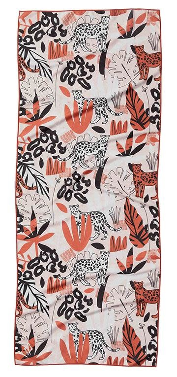 Nomadix Jungle Cat Pink Towel-2