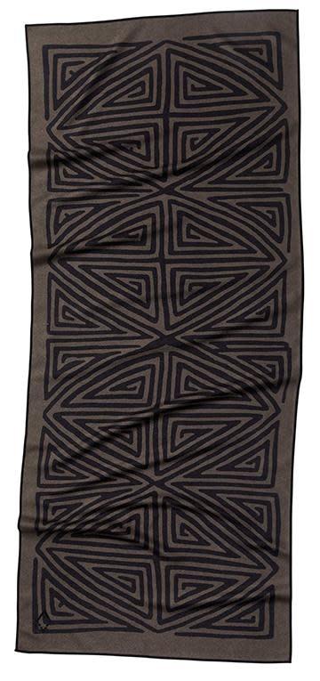 Nomadix La Playa Brown Black Towel-2