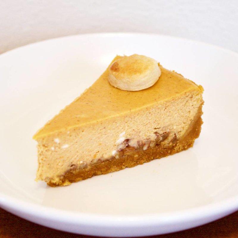 Pumpkin Praline Cheesecake
