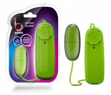 Blush Novelties B Yours Power Bullet-Lime