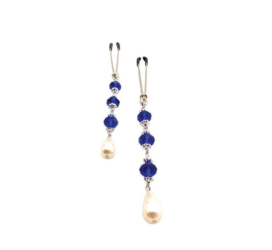 Bijoux de Nip Pearl Dark Blue Beads