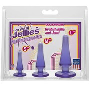 Doc Johnson Crystal Jellies Anal Initiation Kit-Purple