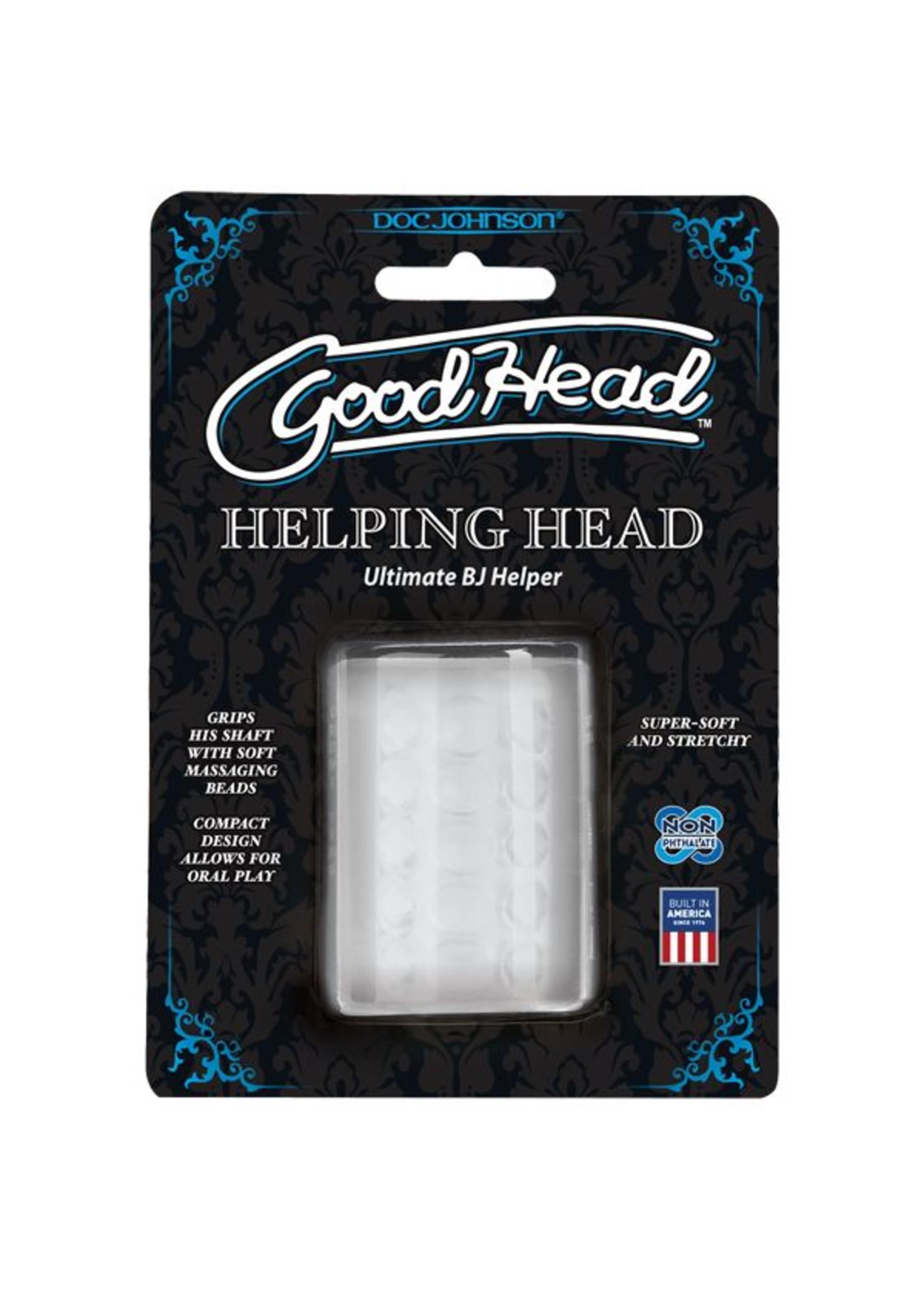 Doc Johnson GOOD HEAD HELPING HAND