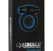 Doc Johnson OptiMALE - Vibrating C-Ring - Black