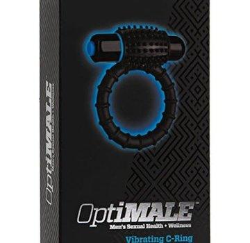 Doc Johnson OptiMALE - Vibrating C-Ring - Black