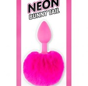 Pipedream Neon Bunny Tail Pink
