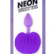 Pipedream Neon Bunny Tail Purple