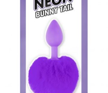 Pipedream Neon Bunny Tail Purple