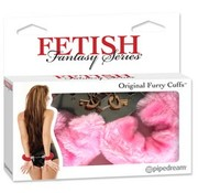 Pipedream Fetish Fantasy Series Original Furry Cuffs-Pink