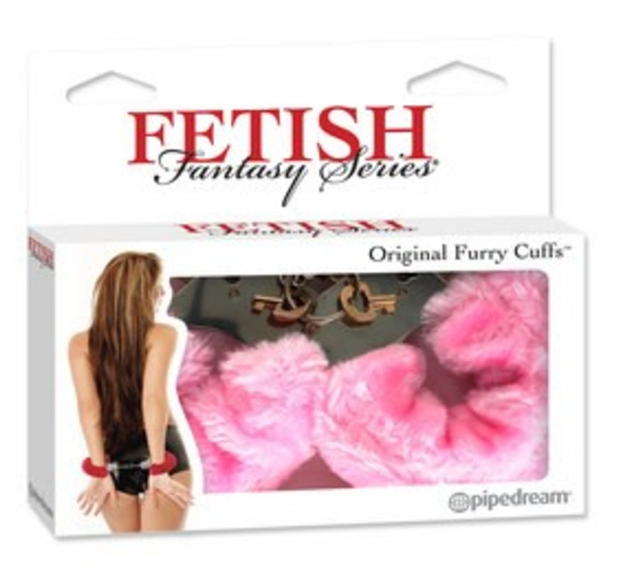 Fetish Fantasy Series Original Furry Cuffs-Pink