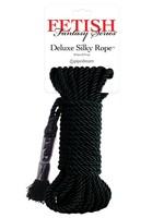 Pipedream Fetish Fantasy Series Deluxe Silk Rope - Black