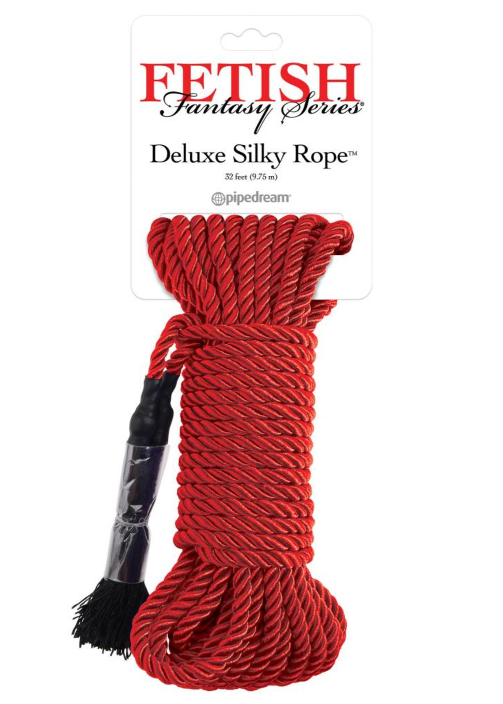Pipedream FF DELUXE SILK ROPE RED