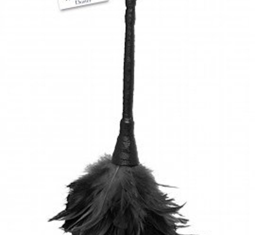 Fetish Fantasy Series Frisky Feather Duster - Black