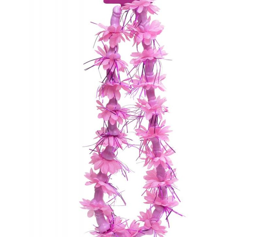 Bachelorette Party Favors Pecker Lei Necklace