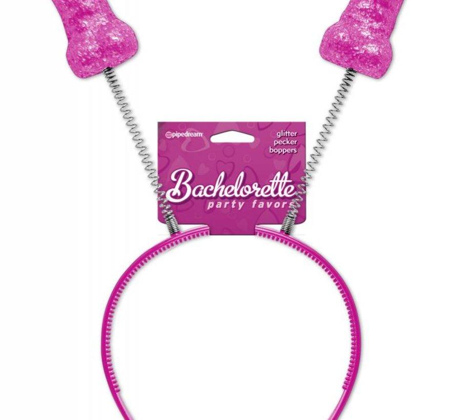 Bachelorette Party Favors Pecker Boppers-Glitter