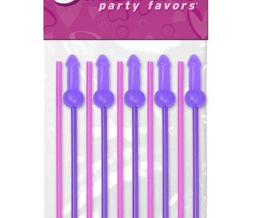Pipedream Bachelorette Party Favors Mini COCK-tail Straws