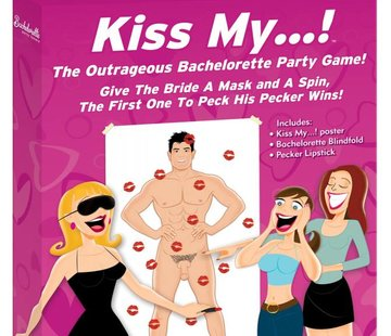 Pipedream Bachelorette Party Favors Kiss My...!