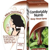 Pipedream Comfortably Numb Deep Throat Spray- Mint Chocolate
