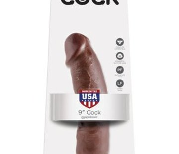 """Pipedream King Cock 9"""" Cock- Brown"""