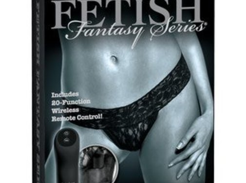 Pipedream Fetish Fantasy Series Limited Edition Remote Control Vibrating Panties Regular Size