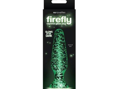 NS Novelties Firefly Glass - Tapered Plug - Clear