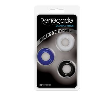 NS Novelties RENEGADE STAMINA RINGS