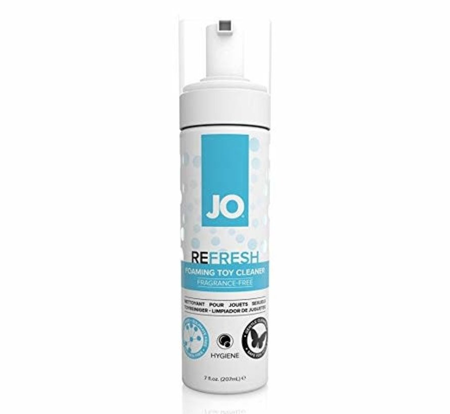 JO Refresh Foaming Toy Cleaner 7oz