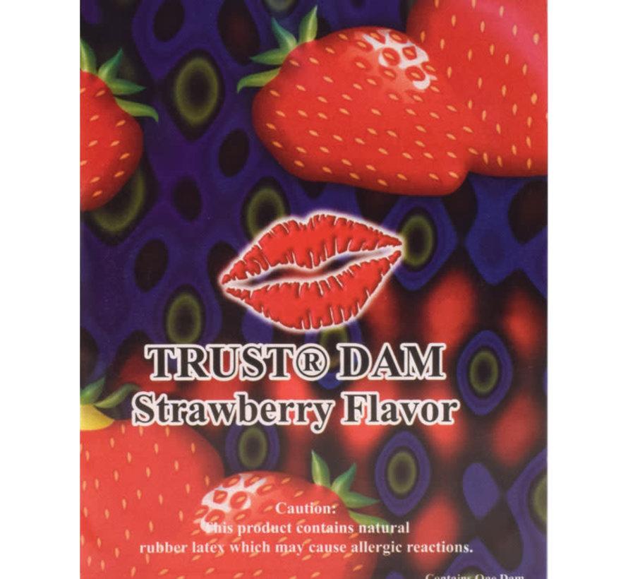 Dental Dam Strawberry