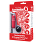 SCREAMING O RECHARGEABLE VIBE PANTY RED