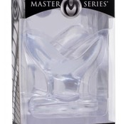 XR Brands ANCHORED CLEAR ANAL PLUG
