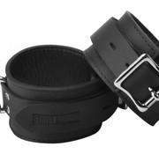 XR Brands Strict Leather Locking Wrist Cuffs
