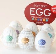 Tenga TENGA EGG Variety Pack - Hard Boiled