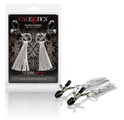 Cal Exotic Novelties Nipple Play Playful Tassels Nipple Clamps Silver