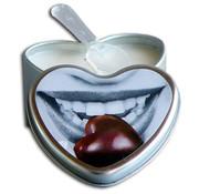 Earthly Body EDIBLE HEART CANDLE CHOCOLATE