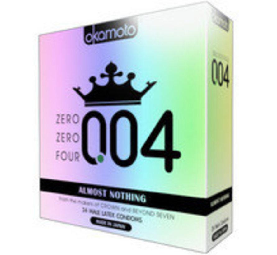 Okamoto 004 24pk