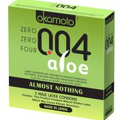 Okamoto OKAMOTO 004 ALOE 3PK