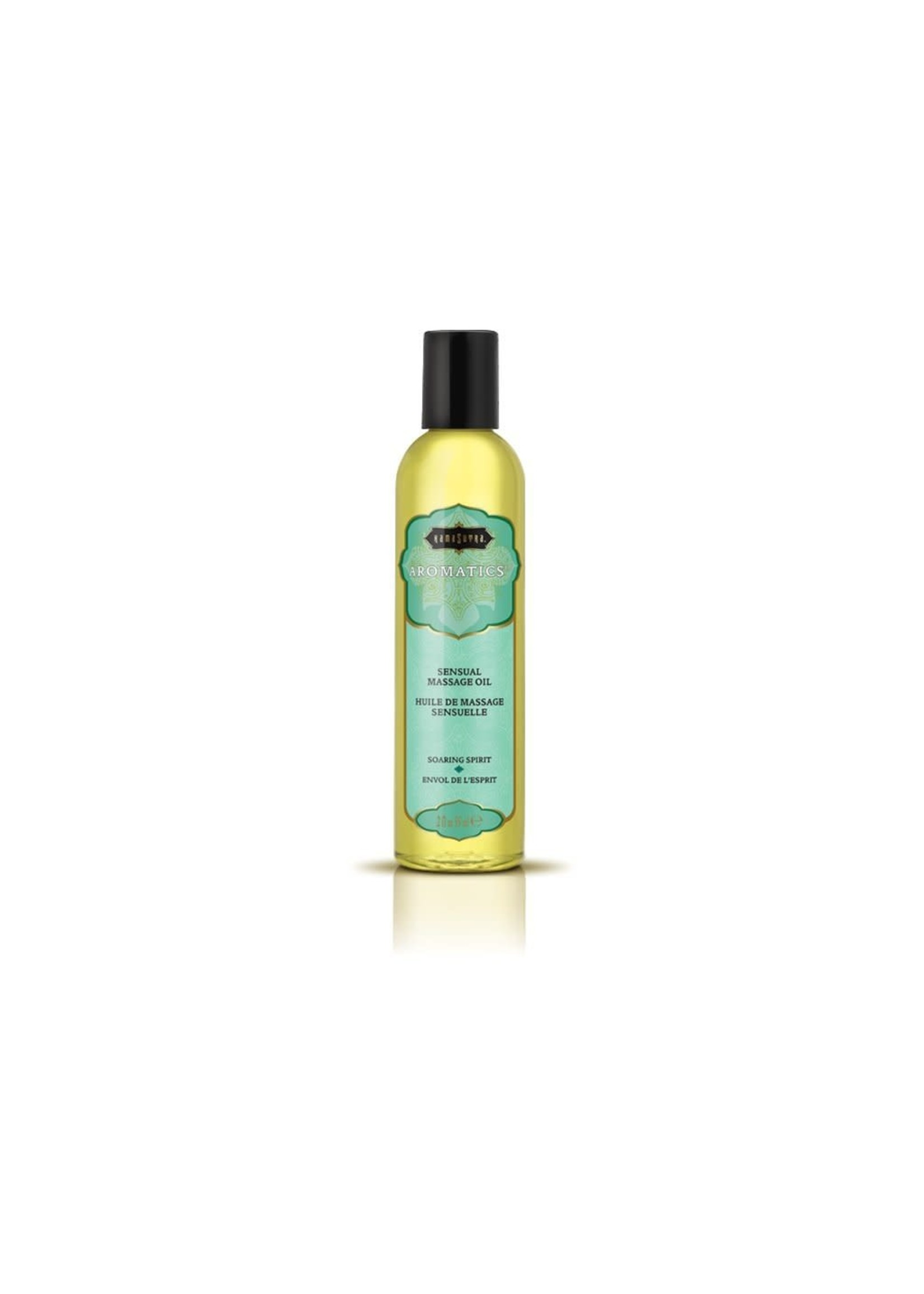 Kama Sutra Aromatics Massage Oil Soaring Spirit 2fl oz