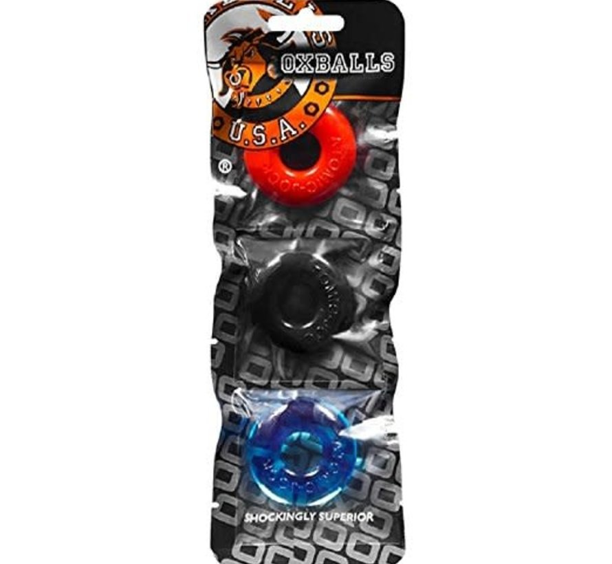 Ringer C-ring 3 pack Multicolor