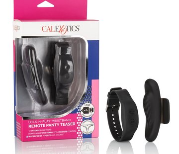 Cal Exotic Novelties Lock-N-Play Wristband Remote Panty Teaser